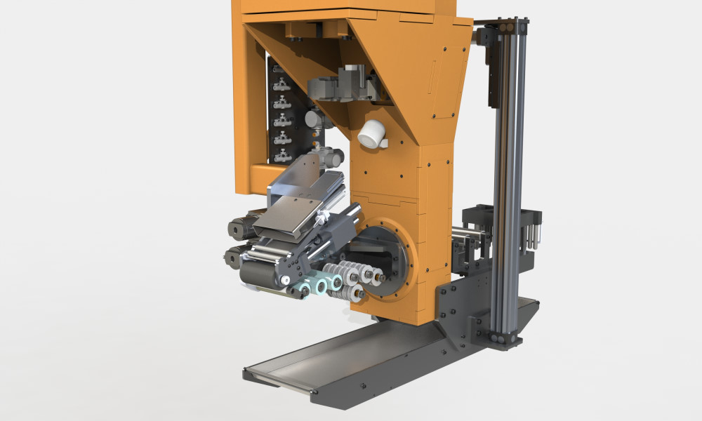 Auto tie-on/cut-off system for wet winding and towpreg system