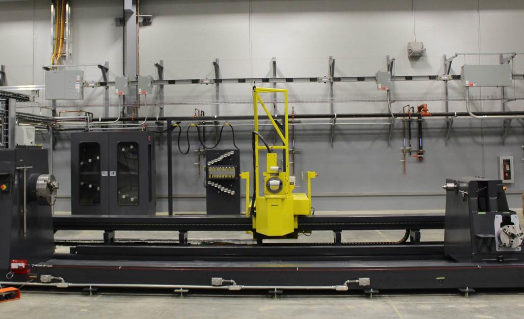 Large-scale filament winding machine