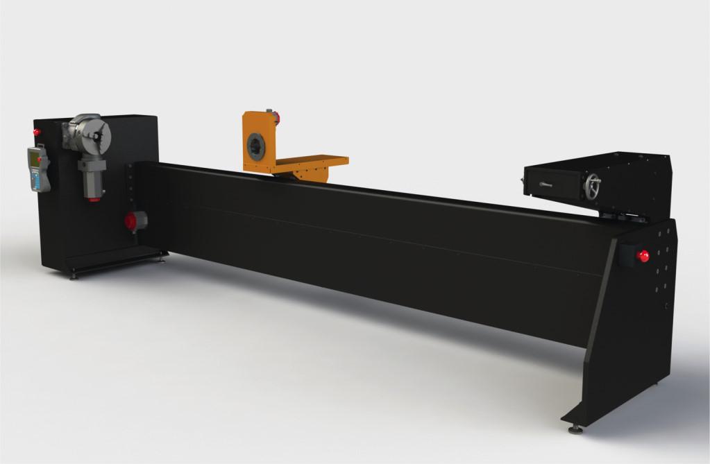 filament winder for medium part production
