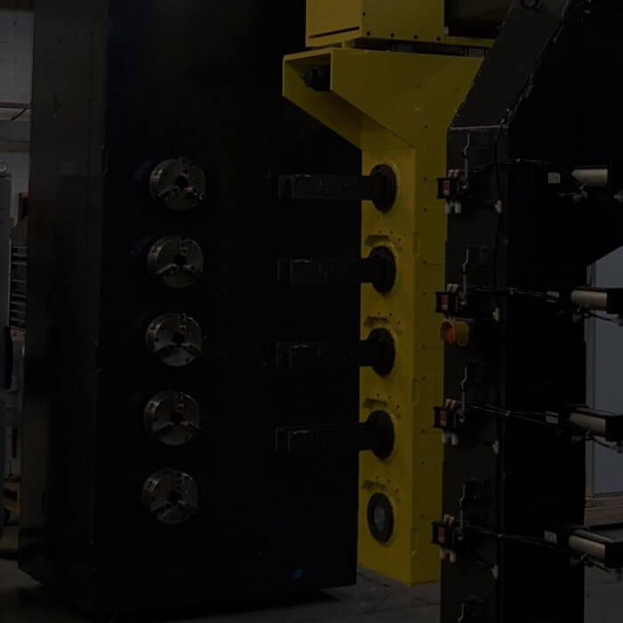 Multi-spindle filament winder
