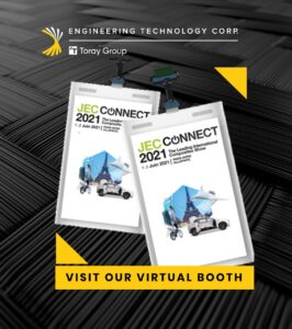 Engineering Techchnology Corp. at JEC Composites Connect 2021